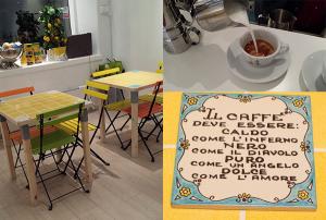 Felice cafè napulitano, cafè kaffe i Birkastan Vasastan, Stockholm